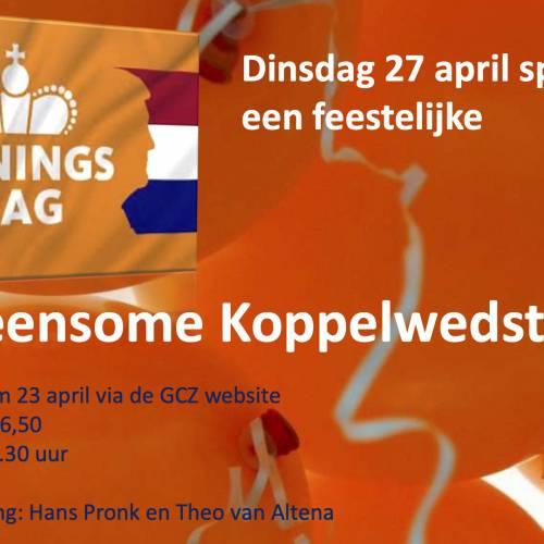 Koningsdagwedstrijd 27-04